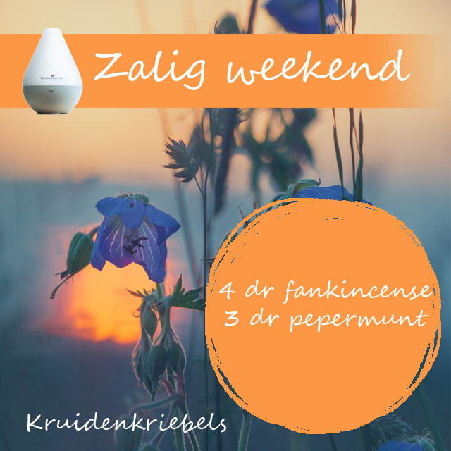 zalig weekend